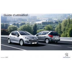 Guide d'Utilisation 207 2013