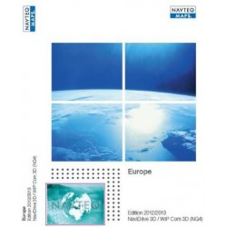 MISE A JOUR NAVIGATION INTEGREE 2012/2013 CARTOGRAPHIE EUROPE